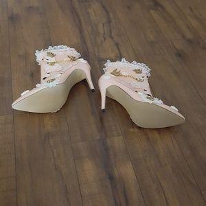 Loslandifen Shoes - 🆕️ Loslandifen - Pink Poodle Ankle Boots